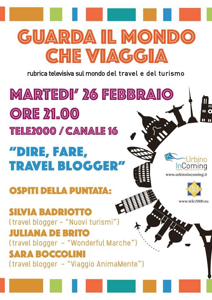 Guarda il mondo che cambia - Urbino Incoming